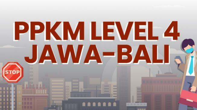 PPKM Level 4 Resmi Di Perpanjang Sampai 2 Agustus