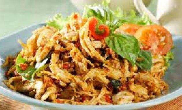 Ayam Suwir Pedas/Topwisata.Info