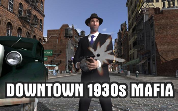 Downtown 1930s Mafia - Download Dan Mainkan