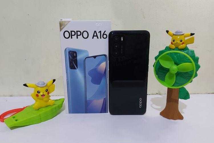 Spesifikasi Lengkap Oppo A16 saat Ini