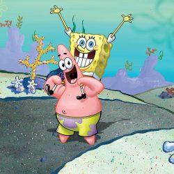 Wallpaper Spongebob Dan Patrick HD Unduh Gratis