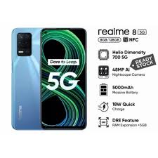 Spesifikasi Lengkap dan Harga HP Realme 8 5G