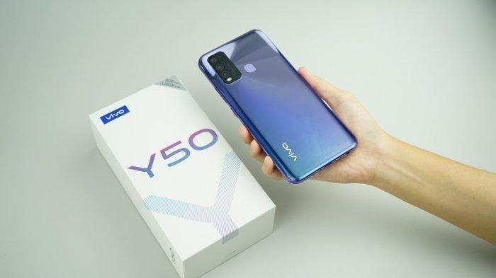 Spesifikasi & Harga Vivo Y50 RAM 8 Quad Camera