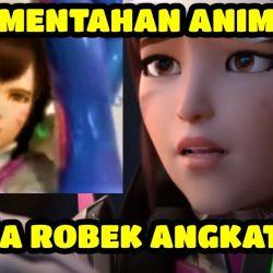 Download Mentahan Anime Angkat Kaki Celana Robek Viral Tiktok